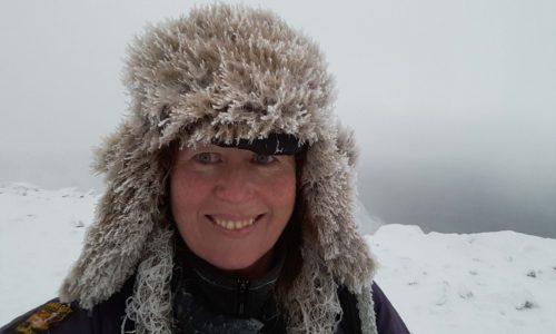 climbing Ben Nevis winter 2017